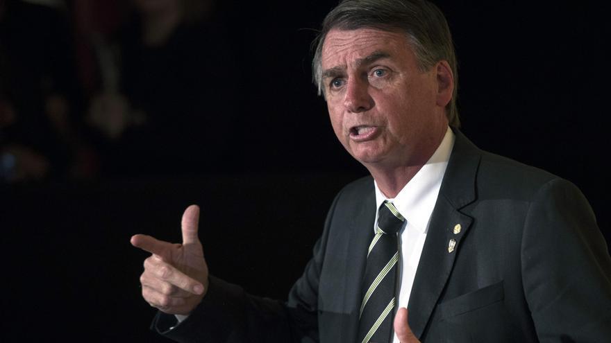 Jair Bolsonaro, diputado ultraderechista brasileño y candidato a la presidencia.