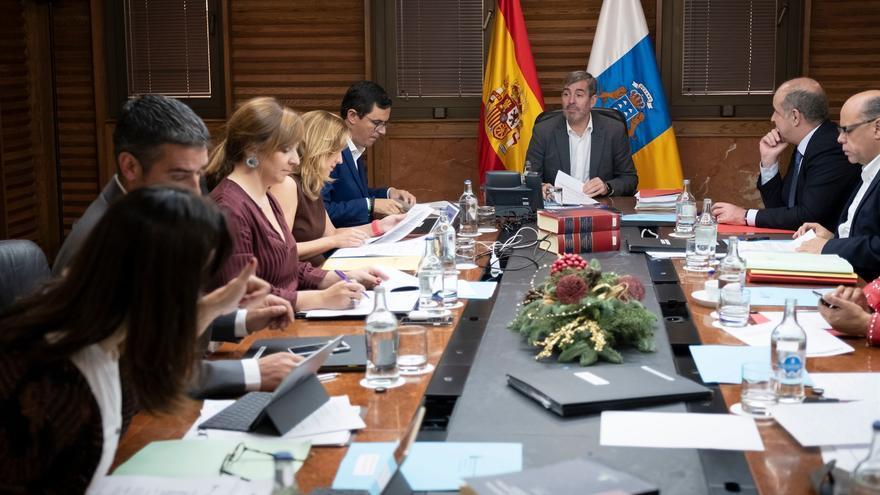Reunión del Consejo de Gobierno de este miércoles, presidida por Fernando Clavijo