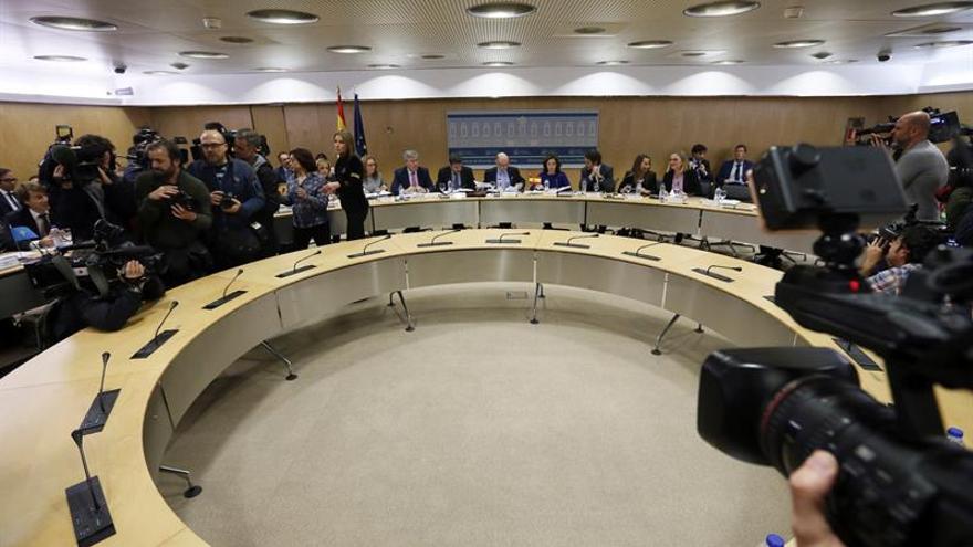 Un momento de la reunión del Consejo de Política Fiscal