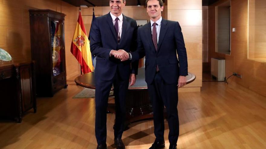 """Rivera: Ahora le toca a Sánchez formar gobierno """"con sus socios habituales"""""""