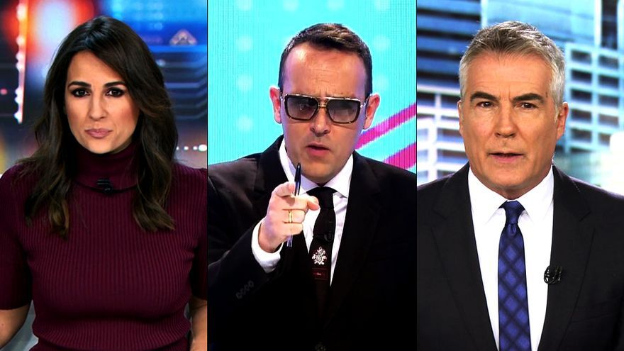 Las cadenas protegen a sus presentadores