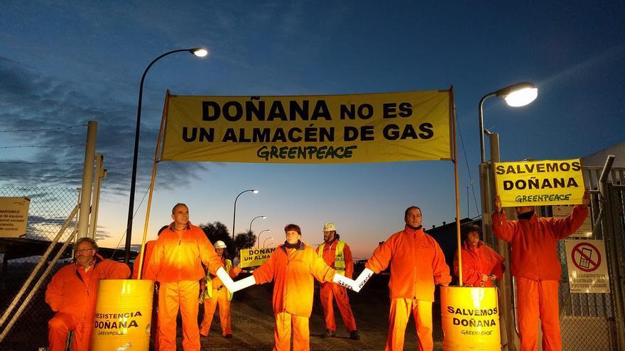 Greenpeace en Doñana.