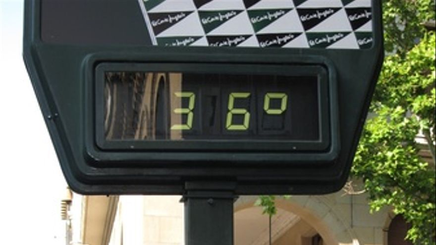 Termómetro A 36º En Zaragoza