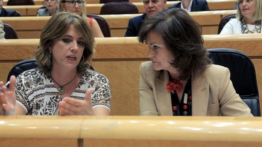 """Calvo cree que Delgado se puede mantener """"perfectamente"""" en el Gobierno"""
