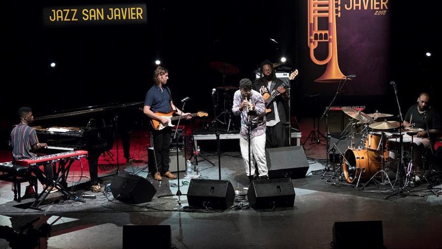 Keyon Harrold Quintet en Jazz San Javier