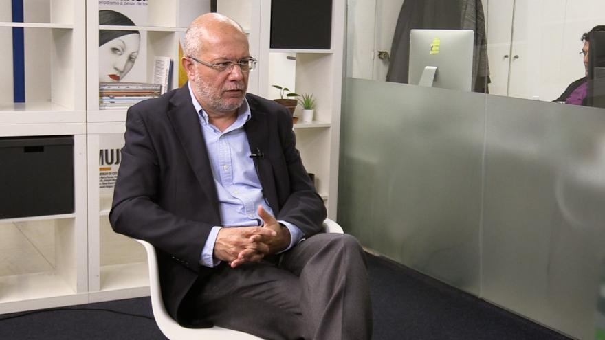 Francisco Igea, candidato a las primarias de Ciudadanos y vicepresidente de la Junta de Castilla y León