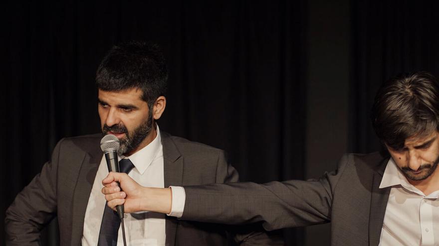 Roberto Martín Maiztegui y Pablo Remón, protagonistas de la obra del Teatro Kamikaze.