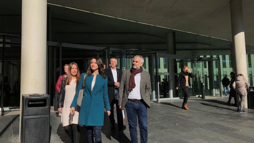 Arrimadas respeta la puesta en libertad de Puigdemont y que sea candidato