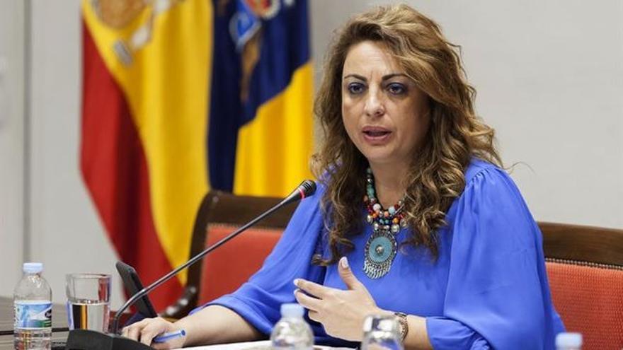 Cristina Valido, consejera de Empleo en Canarias