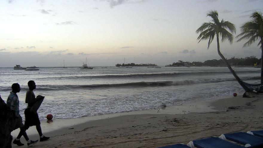 Atardecer en las playas de Negril. Gail Frederick