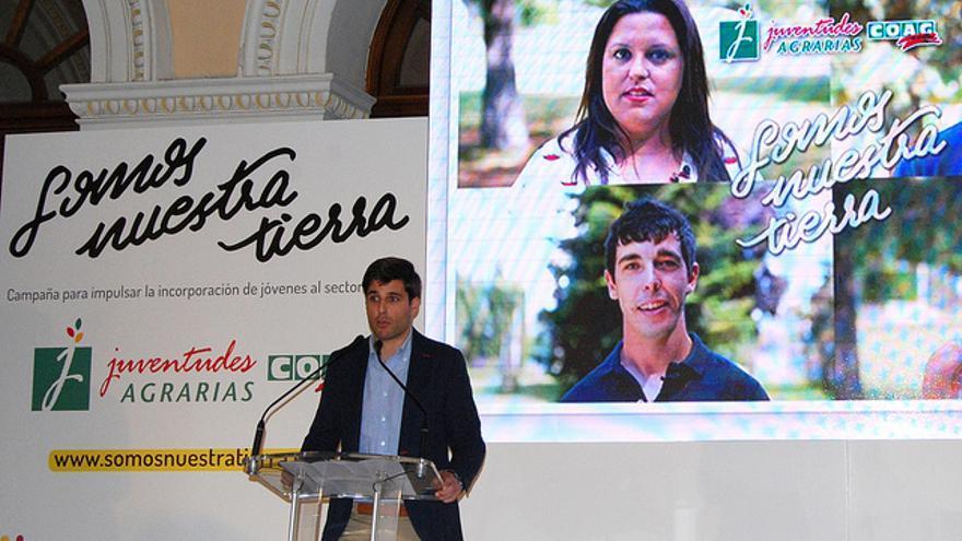 Marcos Garcés es el responsable del Área de Juventudes de COAG