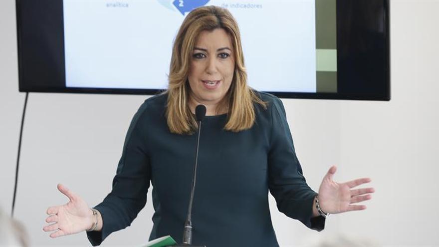 Susana Díaz, preferida para liderar el PSOE, según una encuesta de La Sexta