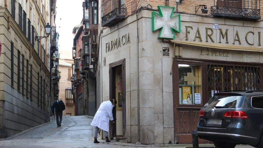 Calles de Toledo durante la cuarentena