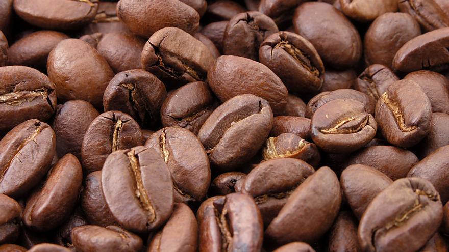Granos torrados de café. Foto: MarkSweep
