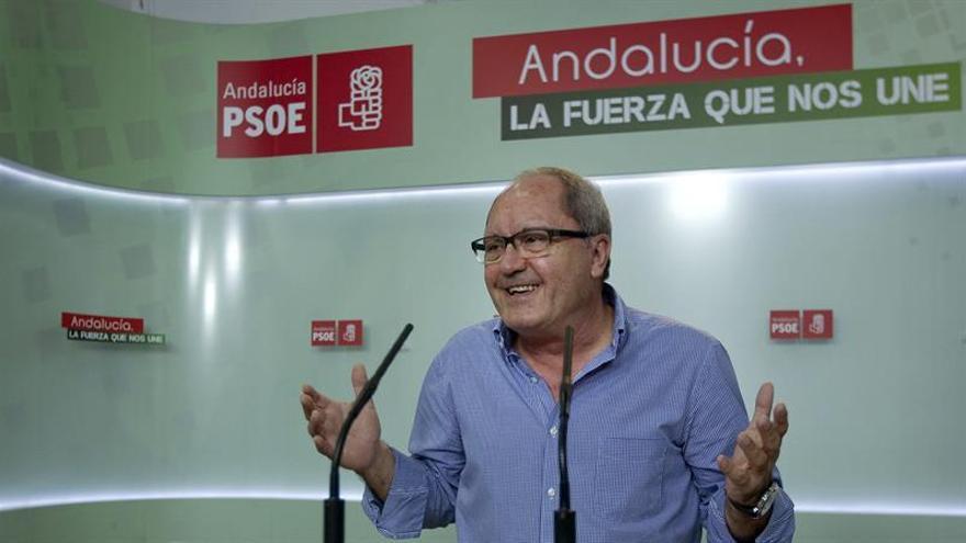 El PSOE-A pide a Sánchez asumir responsabilidades y se opone al adelanto del congreso
