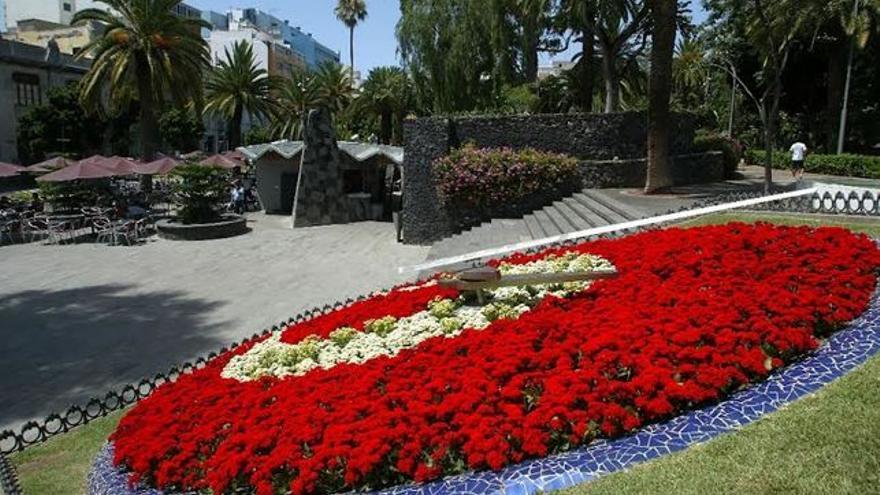 Imagen parcial del parque García Sanabria, en Santa Cruz
