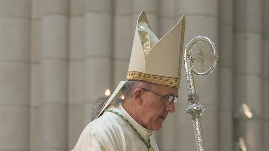 El cardenal de Madrid, Carlos Osoro Sierra.