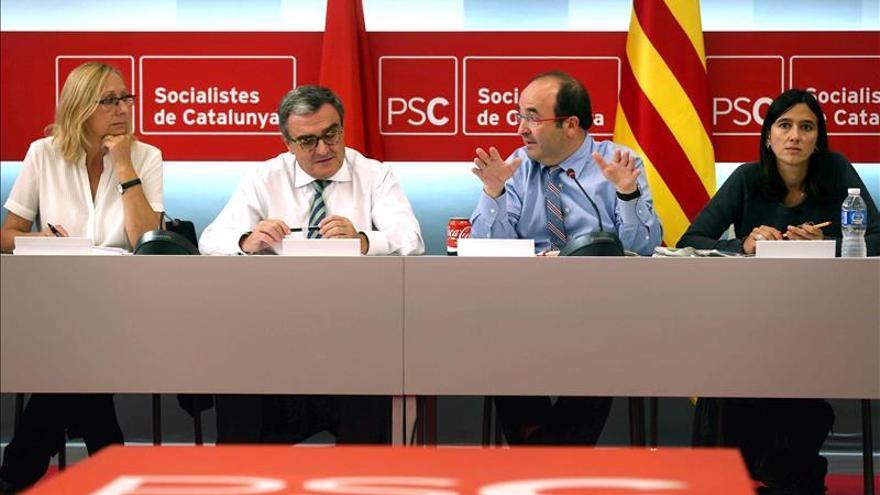 """Iceta da por acabado """"periodo de excepcionalidad"""" del PSC y anuncia la remontada"""