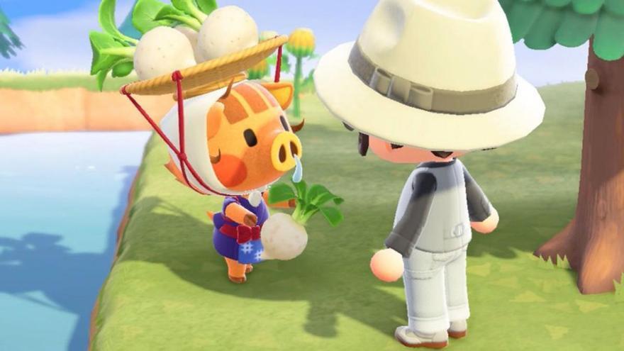 El mercado de compraventa de nabos en Animal Crossing