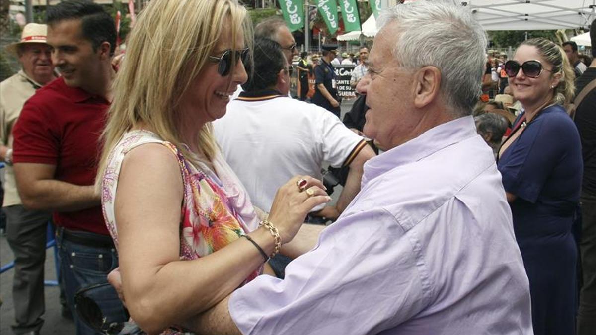 Los exalcaldes de Alicante Sonia Castedo y Luis Díaz Alperi.