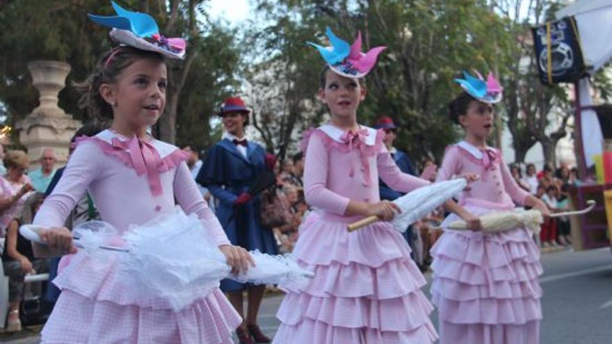 Los más pequeños han sido los protagonistas de la Cabalgata Infantil de la Fiesta de la Vendimia
