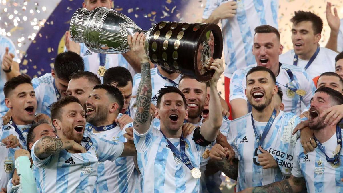 Argentina celebra la victoria