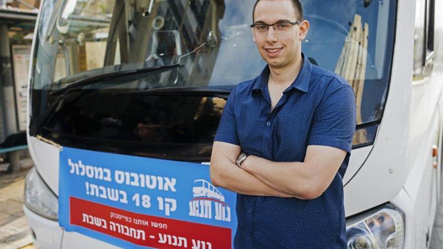 Cooperativa israelí desafía la prohibición de transporte público en shabat