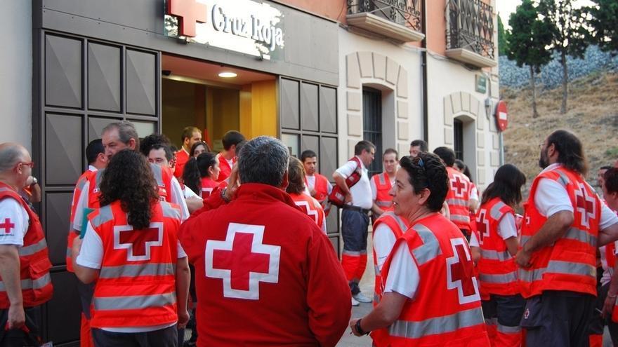 Cruz Roja movilizará a más de 40 voluntarios durante las fiestas de Santa Ana en Tudela
