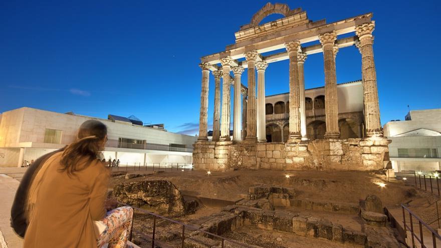Templo de Diana / Turismo Extremadura
