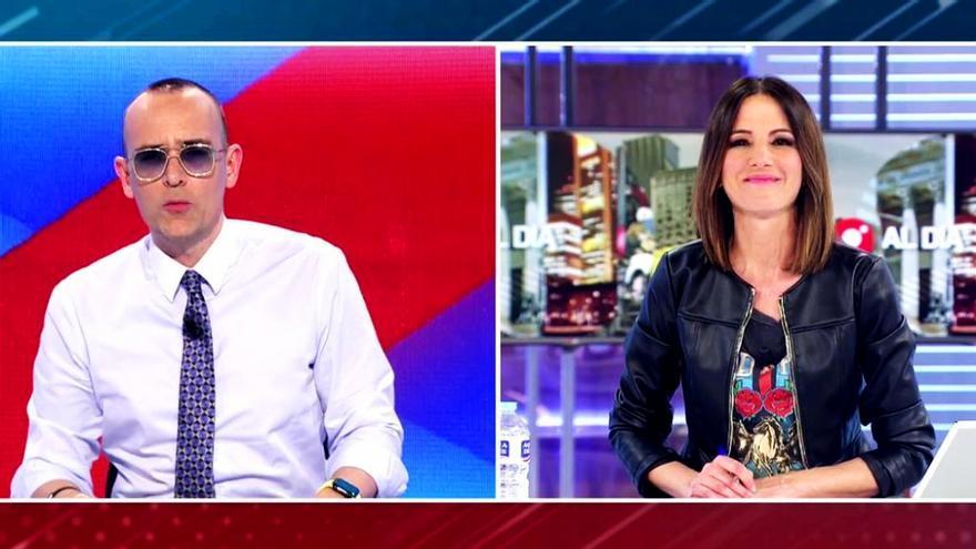 Risto Mejide y Mónica Sanz
