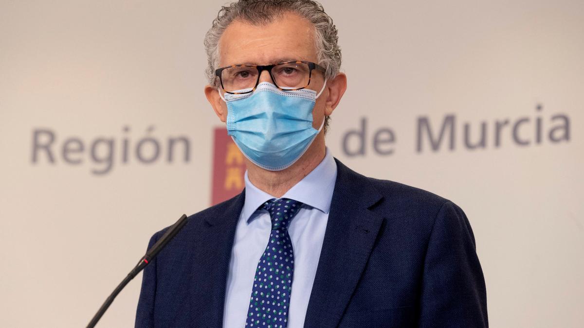 El consejero de Salud, Juan José Pedreñol. EFE/Marcial Guillén/Archivo