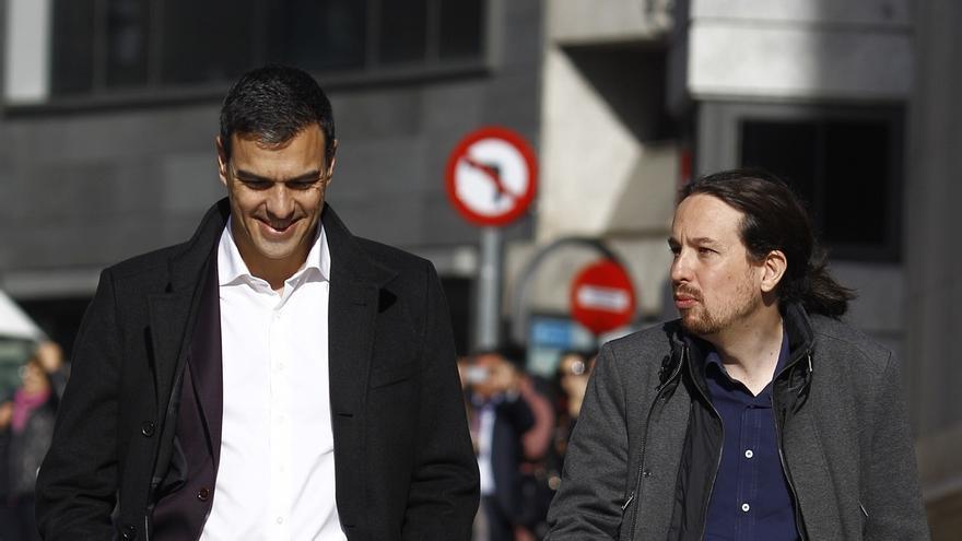 Finaliza la reunión entre Sánchez e Iglesias, tras casi dos horas