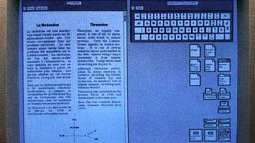 Xerox Star, el primer ordenador de la historia con interfaz gráfica de usuario basada en un mapa de bits (Foto: Folklore.org)