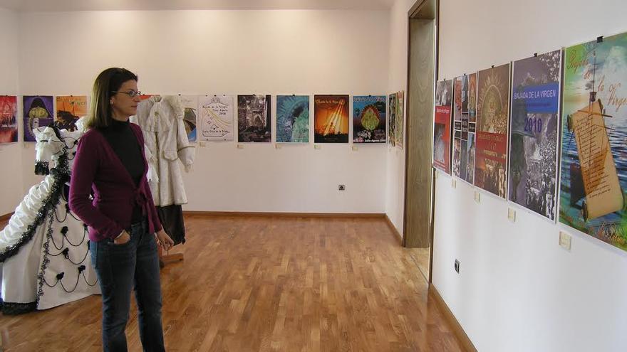 Imagen de archivo de las exposición de los trabajos recibidos para la edición de La Bajada 2010.