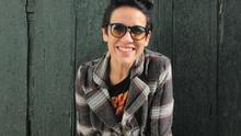 Petite Lorena es una actriz cómica de fina inteligencia. Foto: LUZ RODRÍGUEZ.