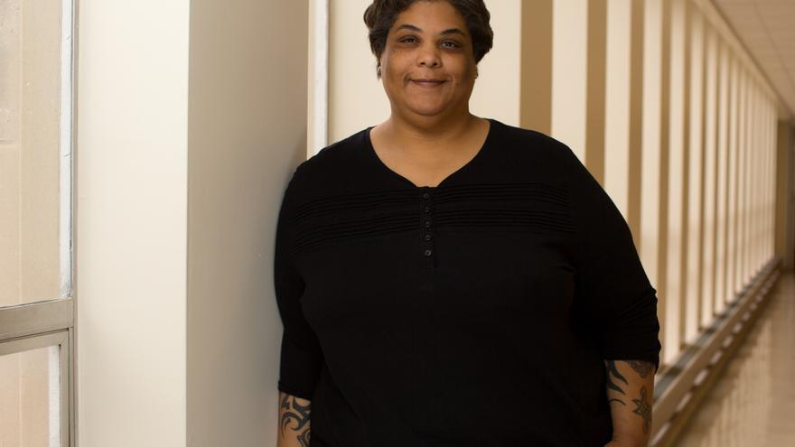 La escritora, profesora y editora feminista Roxane Gay.