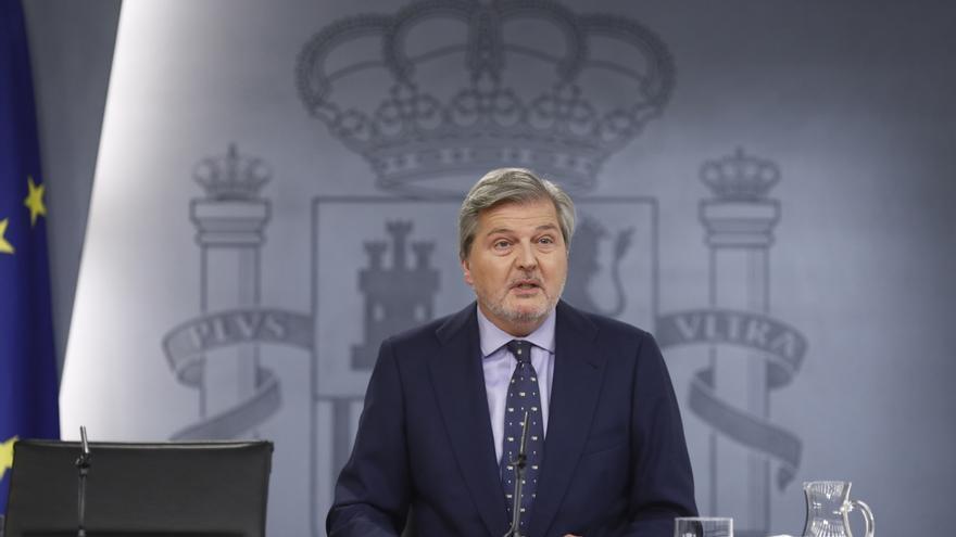 """El Gobierno dice que la moción de censura ofrecerá la """"novedad"""" de escuchar de Pablo Iglesias """"propuestas positivas"""""""