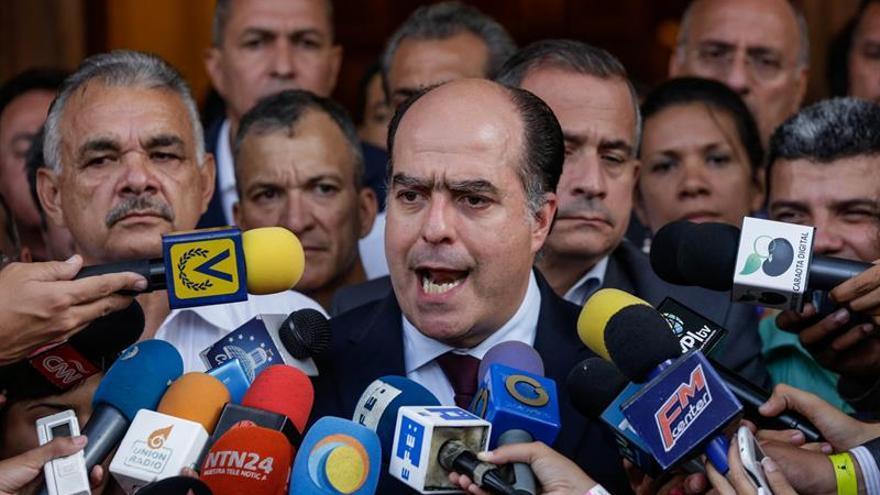El jefe de la Cámara venezolana dice que el Gobierno ordenó el ataque a la sede del Legislativo