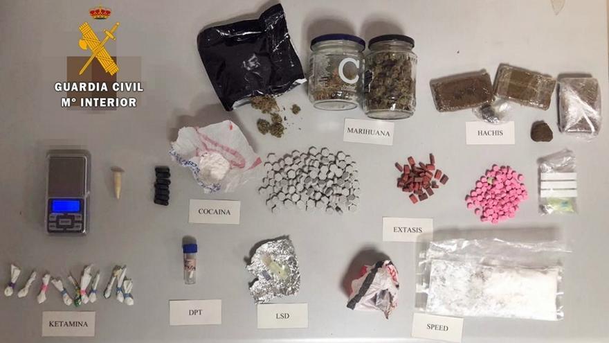 Drogas LSD extasis cocaina speed