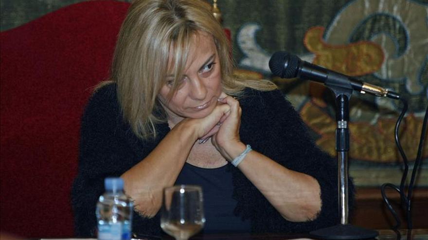 Sonia Castedo (PP) anuncia que deja la alcaldía de Alicante