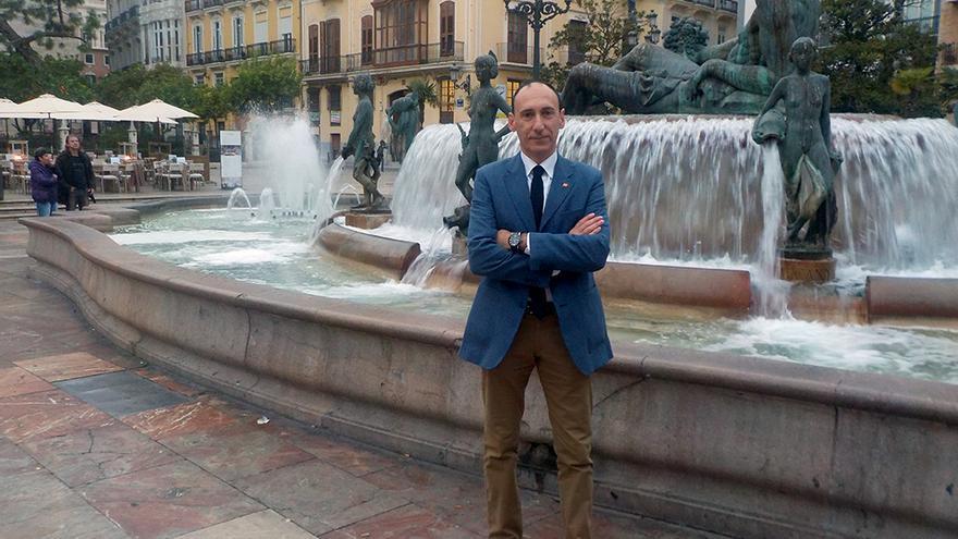 El candidato de Ciudadanos por Valencia, Vicente Ten