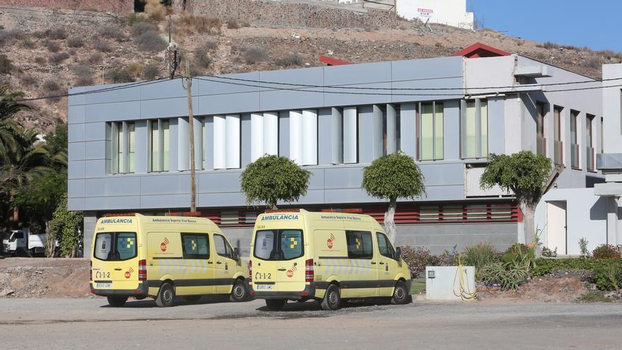 Ambulancia de Soporte Vital Básico al sur de Gran Canaria.