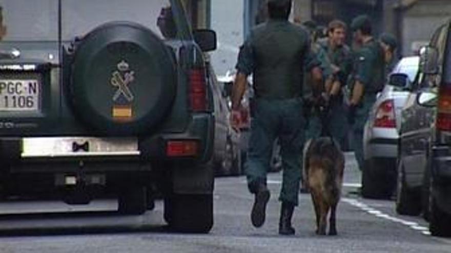 Operación de la Guardia Civil en Guipúzcoa
