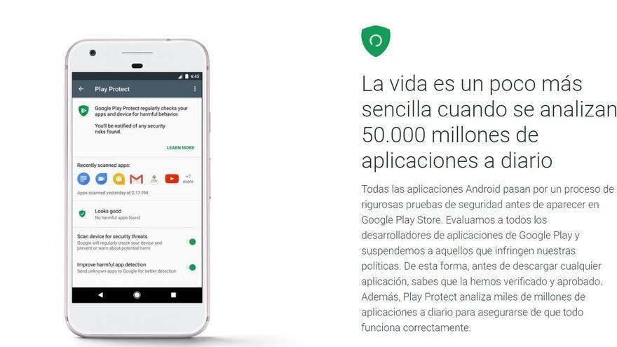 Google Protect, el sistema de seguridad para Android