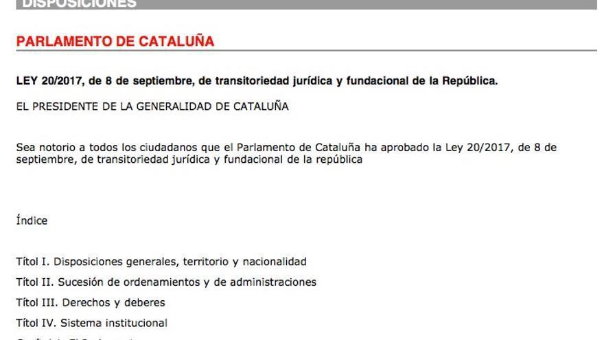 Diario Oficial de la Generalitat de Catalunya