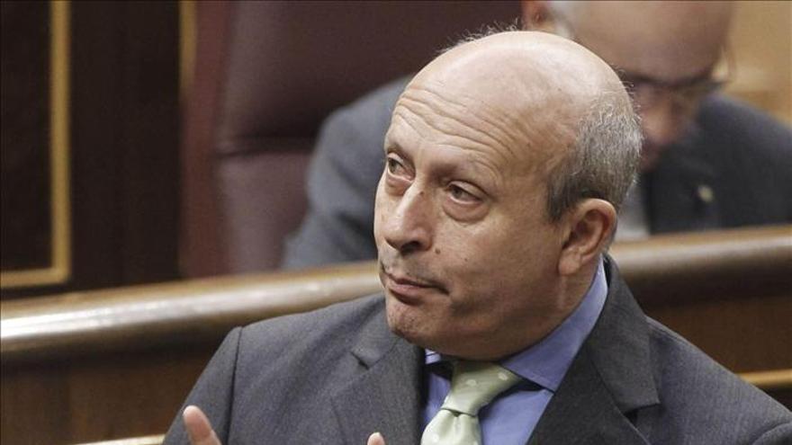 El ministro de Educación, José Ignacio Wert / EFE.