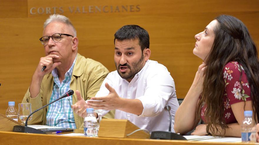 El conseller de Educación, Vicent Marzà, comparece en las Corts