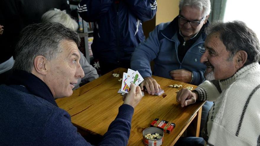 """Macri quiere que Congreso sancione ley que acaba con """"abandono"""" de jubilados"""