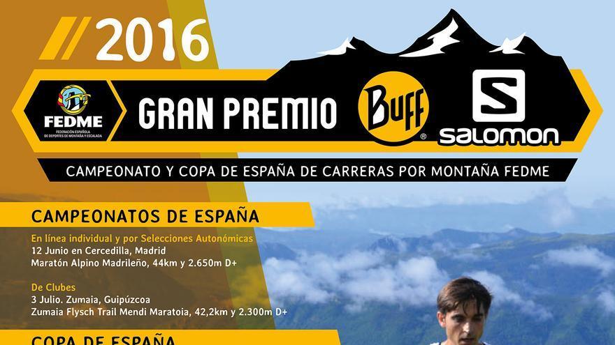 Campeonatos y  Copa de España de Carreras por Montaña en línea - Gran Premio BUFF®-Salomon.