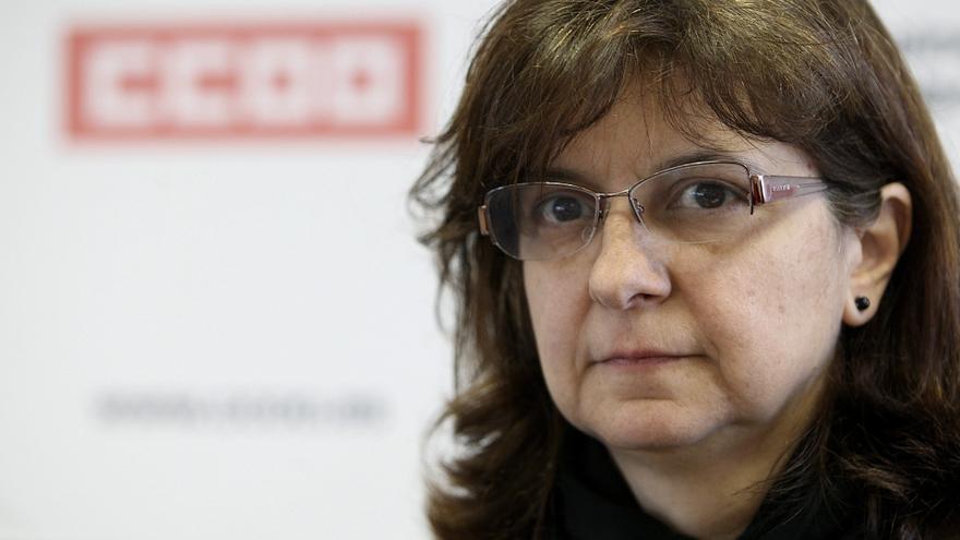 La secretaria de Empleo de CCOO y 'número 2' de IU a las europeas, Paloma López / Mariano Cieza Moreno (EFE)
